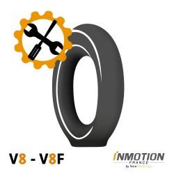 Forfait crevaison V8, V8F