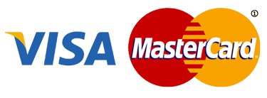 Payment by credit card: Visa / MasterCard