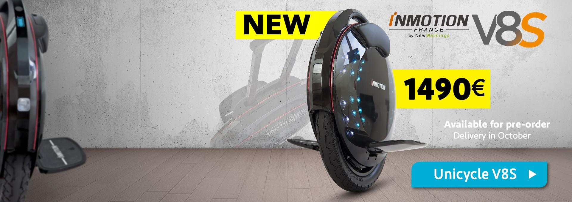 Newest Inmotion V8S